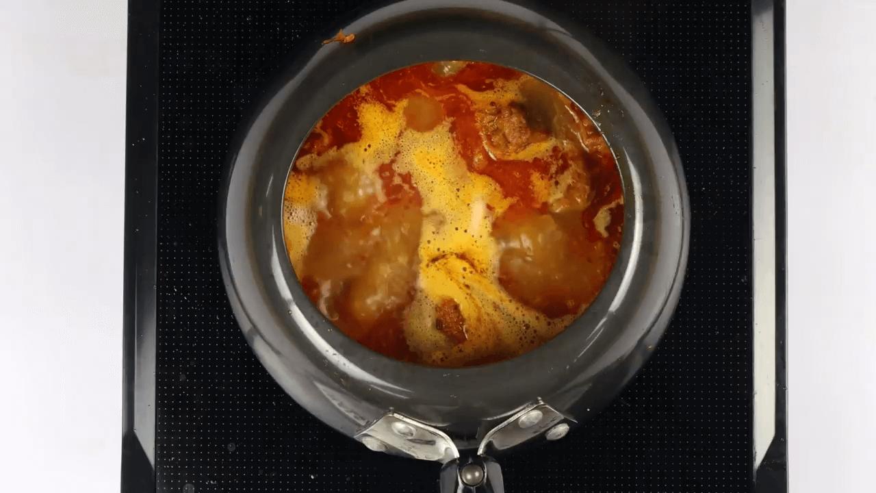 Hyderabadi Mutton Paya step-5