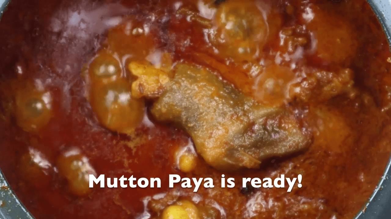 Hyderabadi Mutton Paya step-6