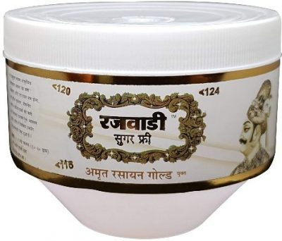 unjha rajawadi sugar free amrit rasayan gold chyawanprash