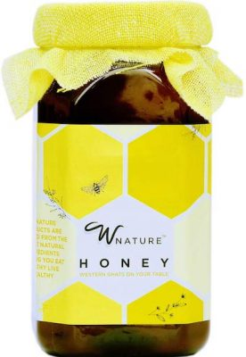 wnature organic wild raw honey