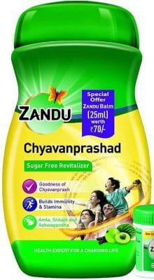 zandu chyawanprashad sugar free immunity builder