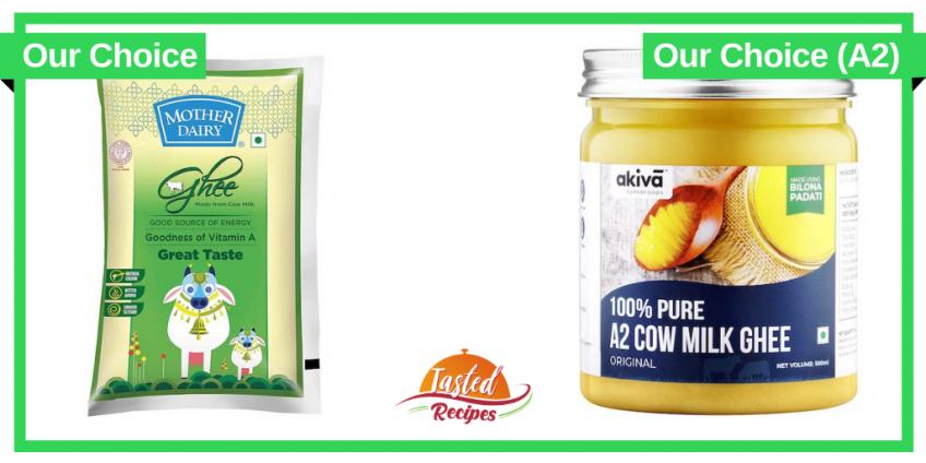 Best Cow Ghee Brands in India