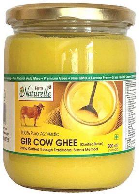 farm naturelle pure a2 gir desi cow ghee