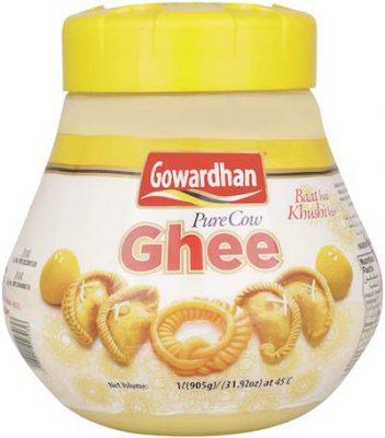 gowardhan ghee jar