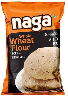 naga whole wheat atta