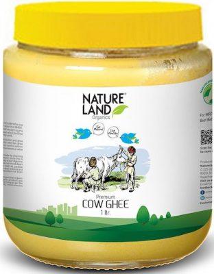 natureland organic premium cow ghee