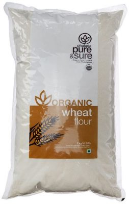 pure & sure organic wheat flour
