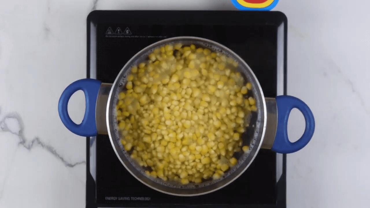 Tamarind Corn Chaat step-1