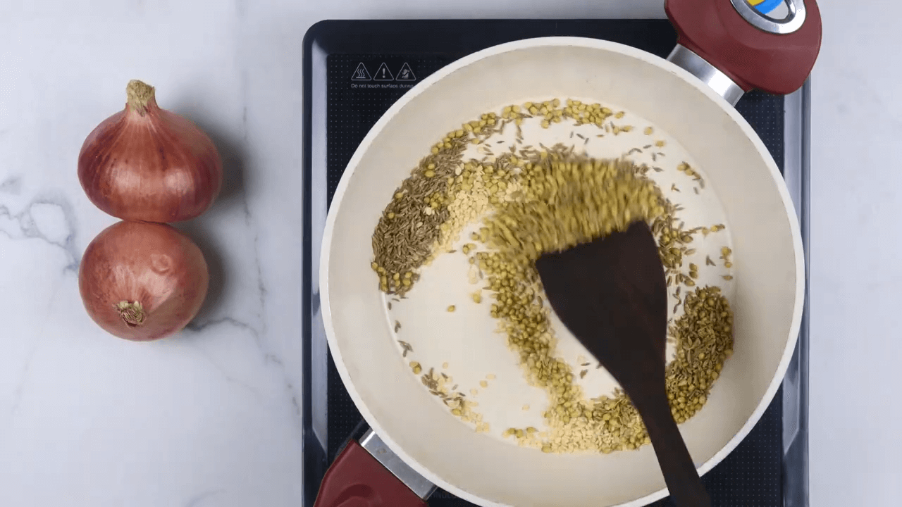 Tamarind Onion Chutney step-1
