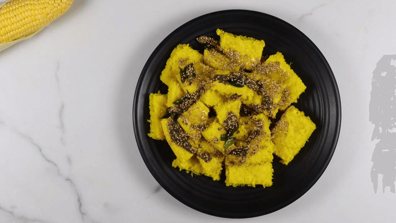 Makai Dhokla step-9