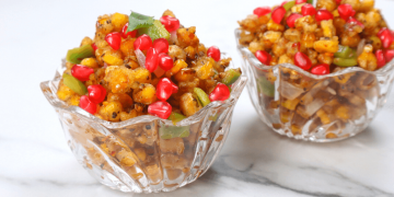 tamarind corn chaat