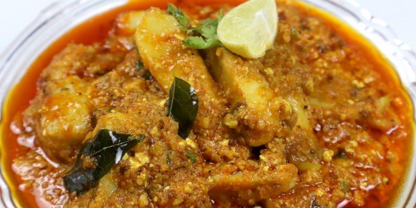 taro root (arbi) curry