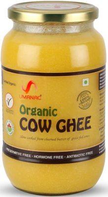 umanac organic cow ghee