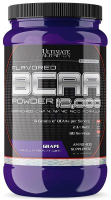 Ultimate Nutrition 100% Crystalline BCAA 12000-457.6 g (Grape)