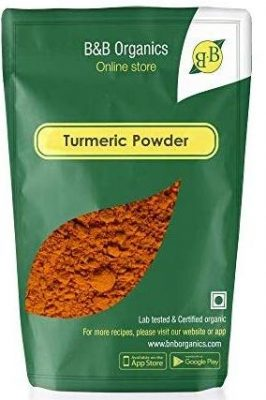 b&b organic turmeric powder