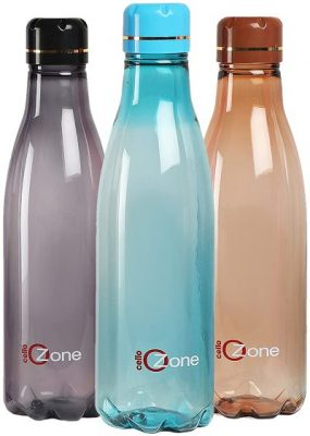 cello ozone plastic water bottle