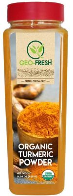 geo fresh organic turmeric powder