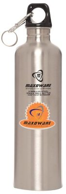 maxoware stainless steel water bottle