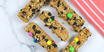 oats chocolate candy bars