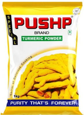 pushp turmeric powder