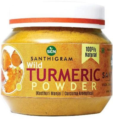 santhigram natural wild turmeric powder