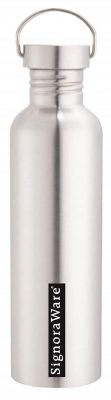 signoraware mac single walled stainless steel water bottle