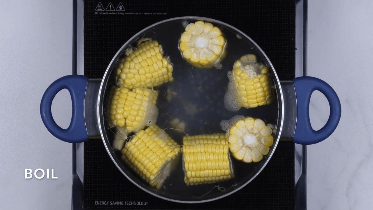 Veg Sweet Corn Soup step-1