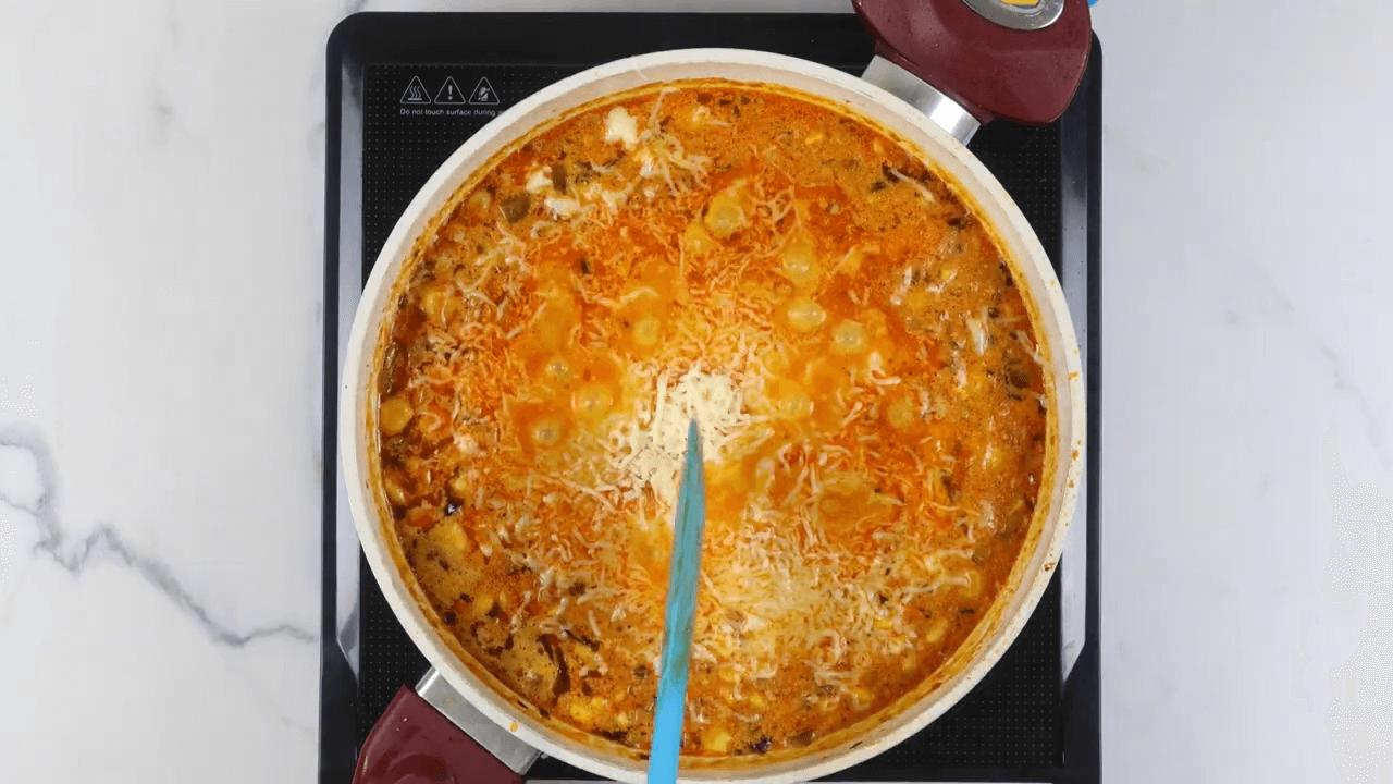 Cheese Corn Curry step-10