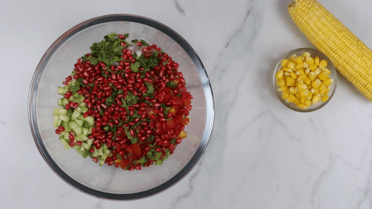 Sweet Corn Bhel step-2