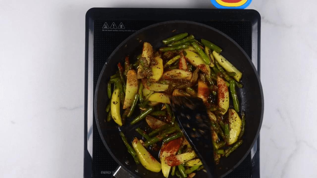 Aloo Beans Sabji step-5
