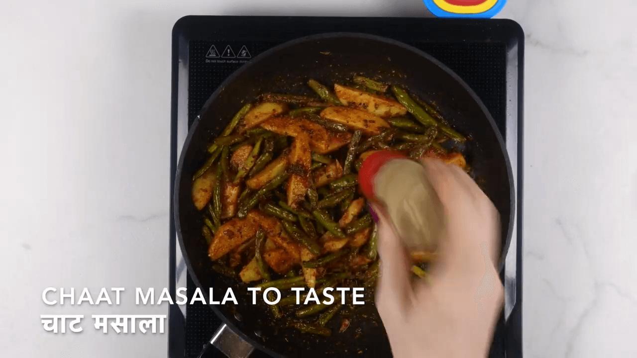 Aloo Beans Sabji step-6
