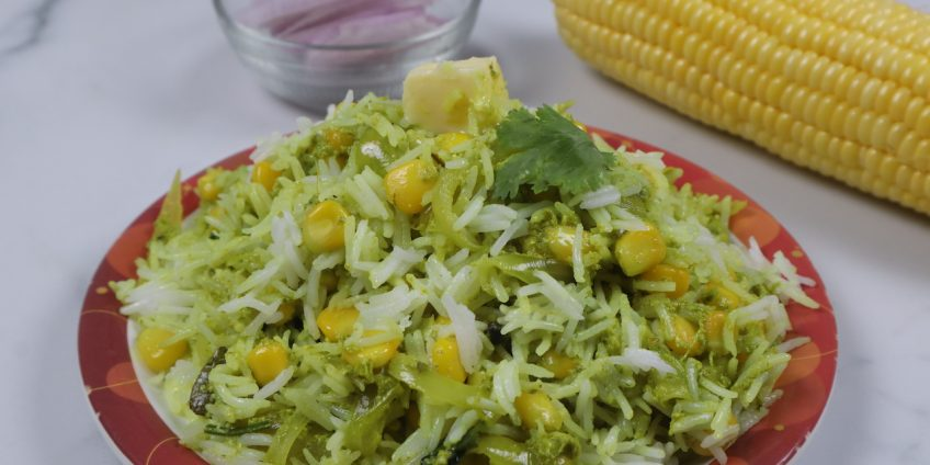 sweet corn pulav
