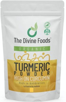 the divine foods turmeric powder