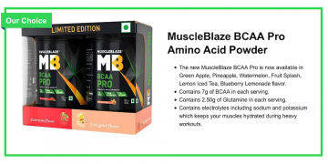 Best BCAA (Branched-Chain Amino Acids) in India