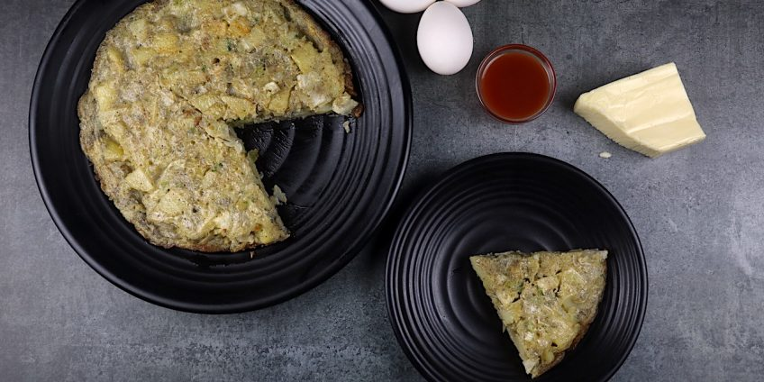 Indian Style Spanish Omelette