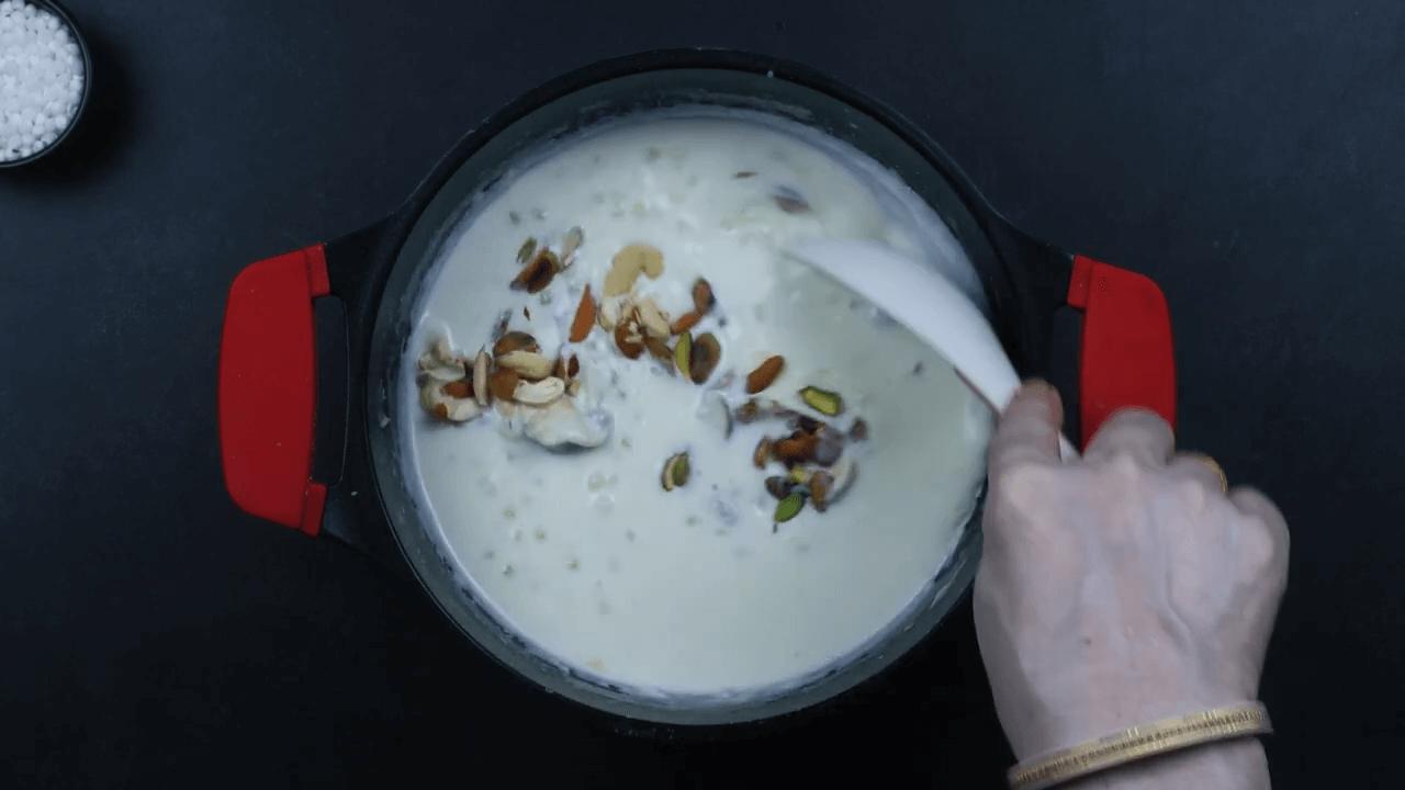 Sabudana Kheer step-5