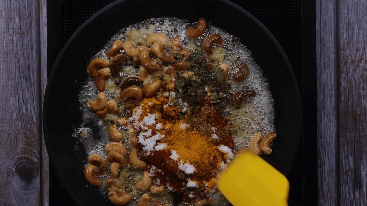 Kaju Curry step-8
