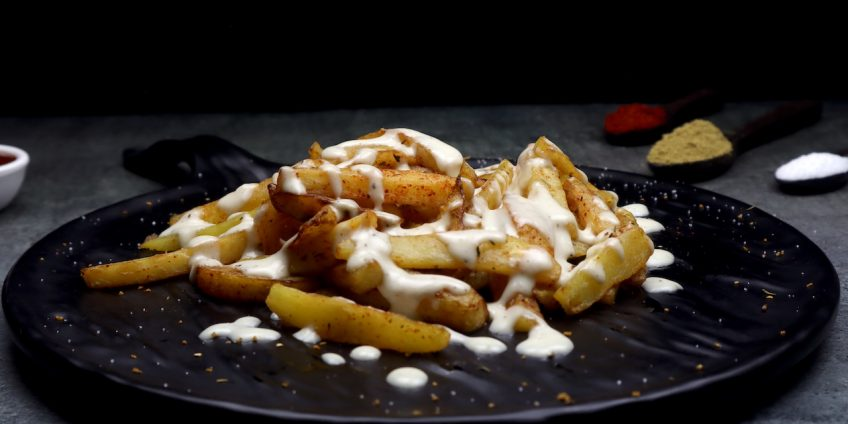 French Fries White Sauce