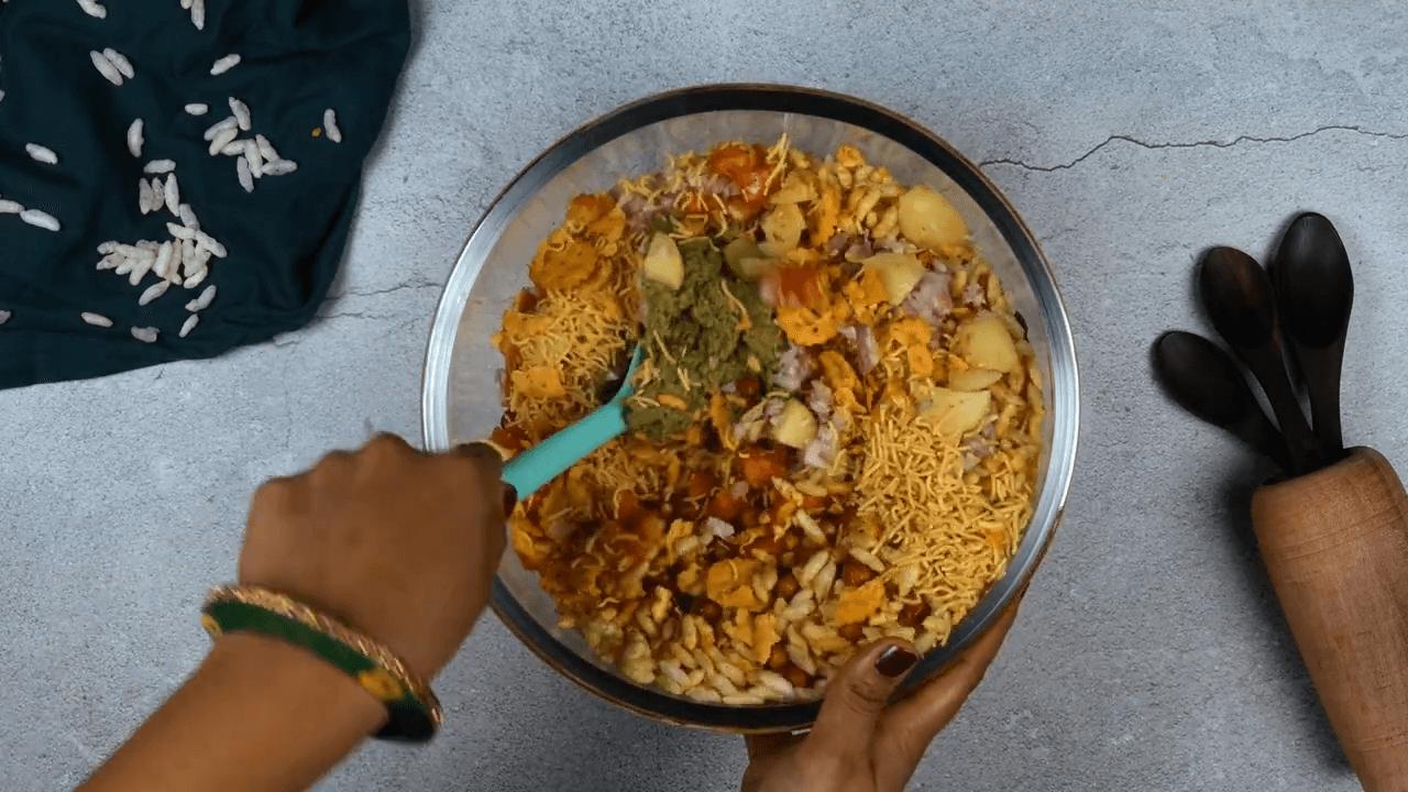 Sukhi Bhel step-4