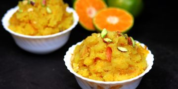 Orange Halwa Recipe
