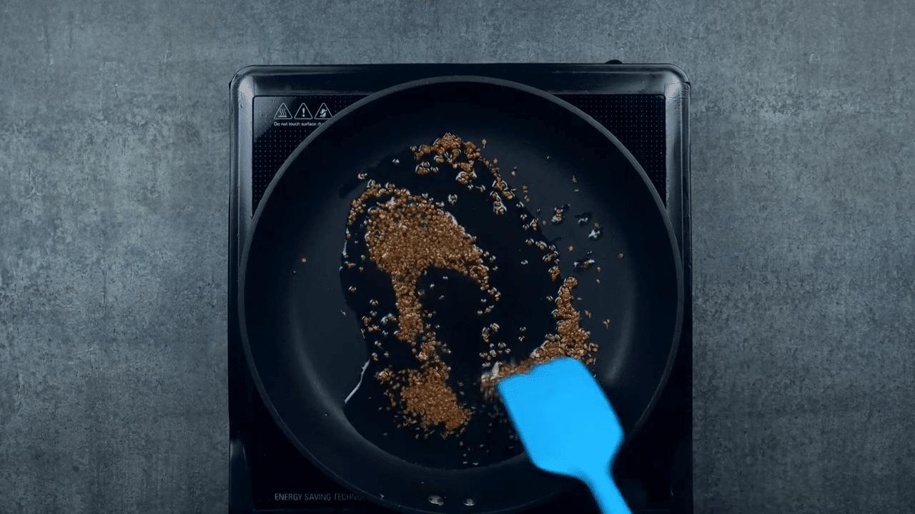 rice flour nacho step 2