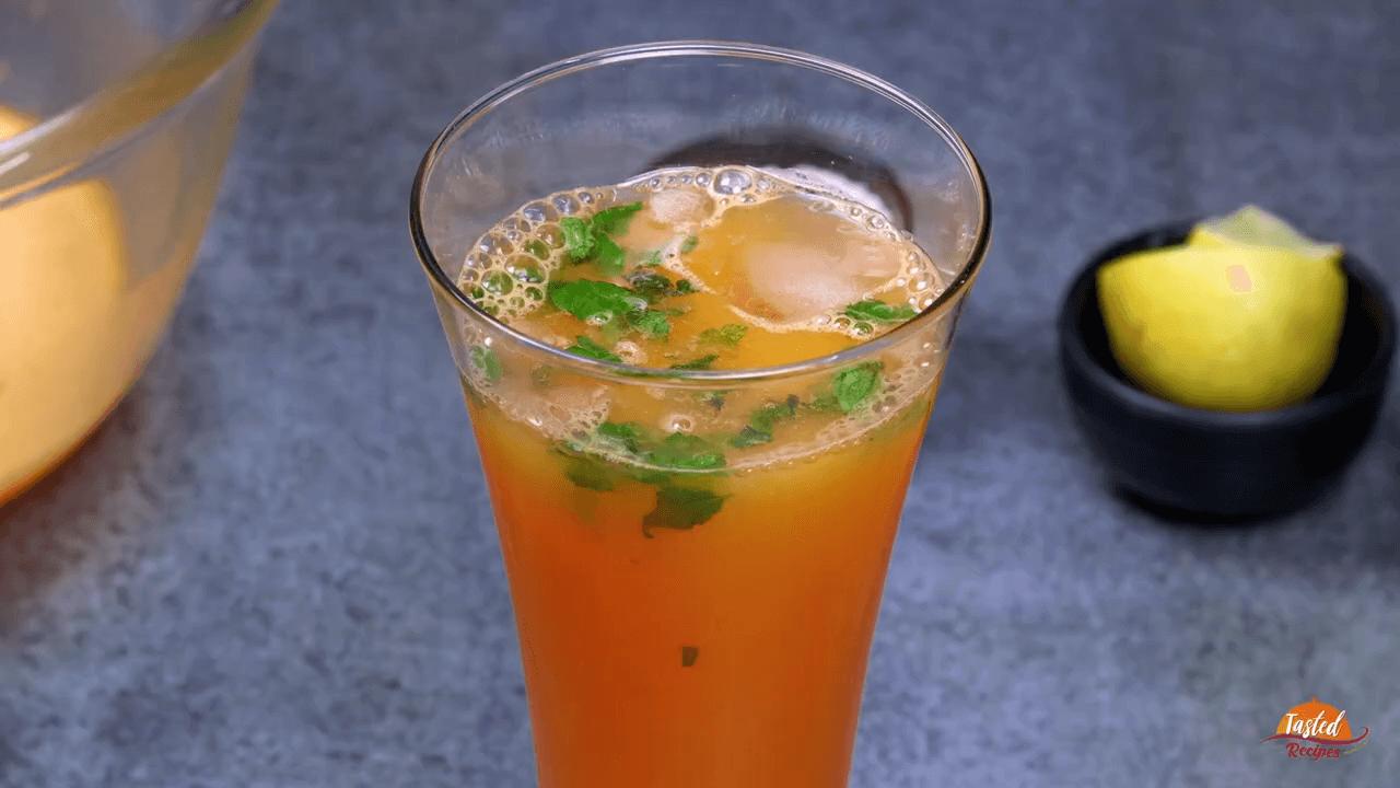 Virgin Orange Mojito Recipe Without Alcohol step-5