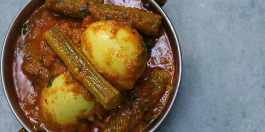 Drumstick Egg Masala Curry