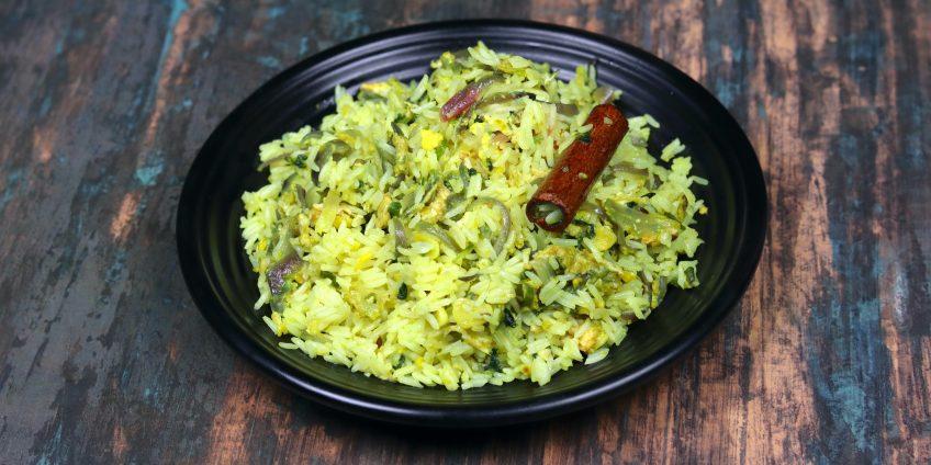 Methi Egg Rice