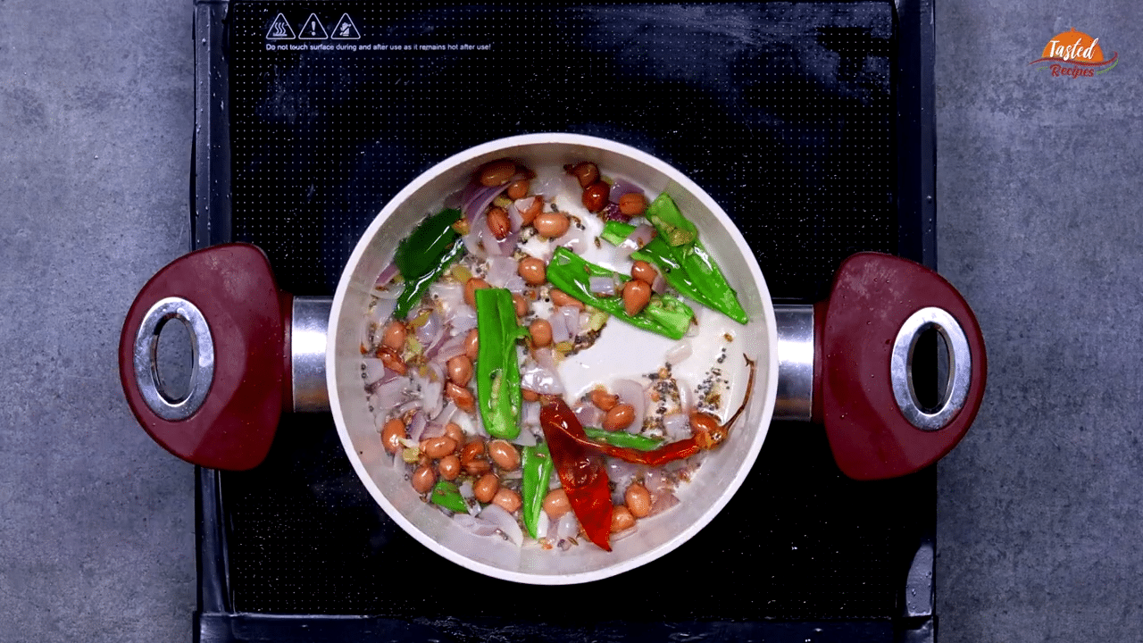 Dahi Poha Tadka Step-3