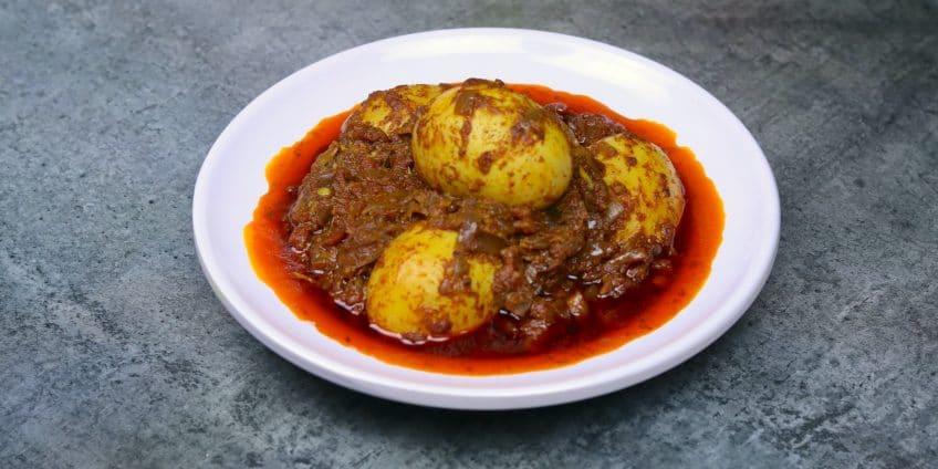 egg ghee roast