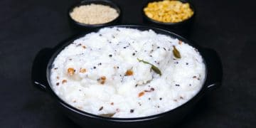 south indian style curd rice