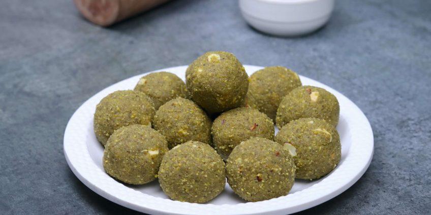 Green Moong Ladoo