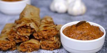 dahi garlic chutney