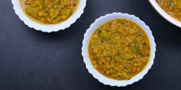 Chana Dal Lauki Without Onion